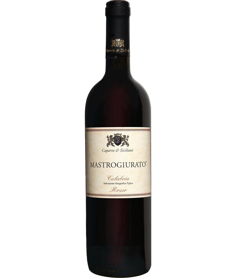 MASTROGIURATO Calabria Rosso IGT 2012 Caparra e Siciliani