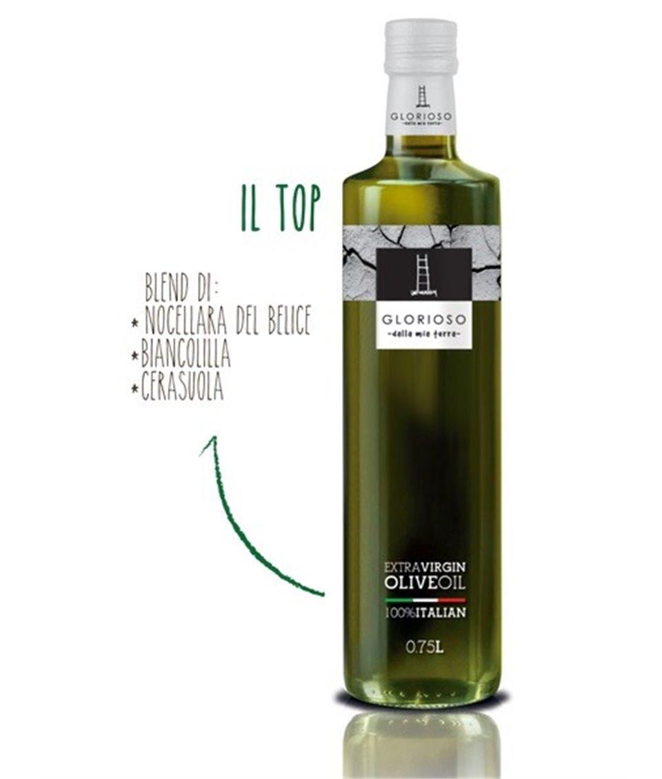 IL TOP Niefiltrowana Oliwa z Oliwek Extra Virgin Superiore DOP 0,5L - GLORIOSO