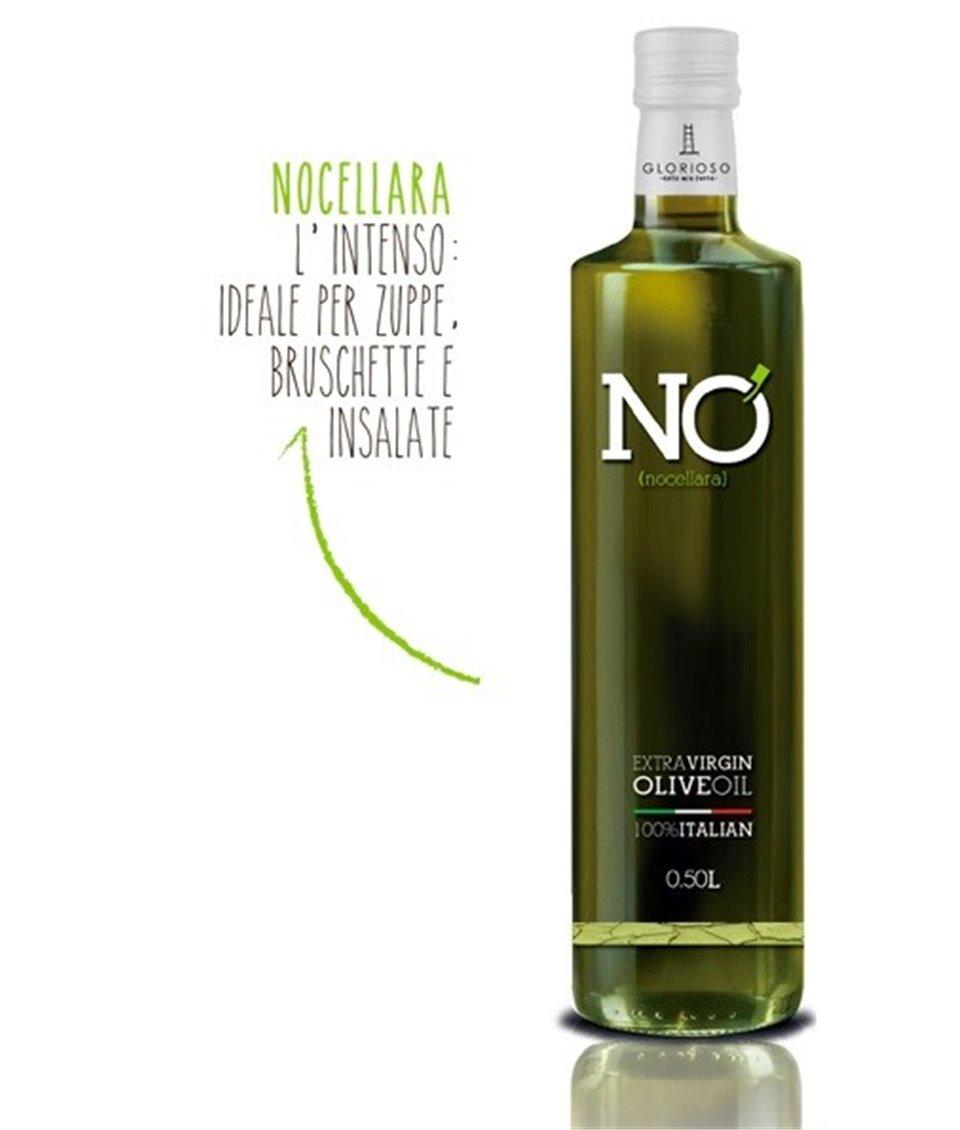 NO Niefiltrowana Oliwa z Oliwek Extra Virgin Superiore DOP Nocellara 0,5L - GLORIOSO