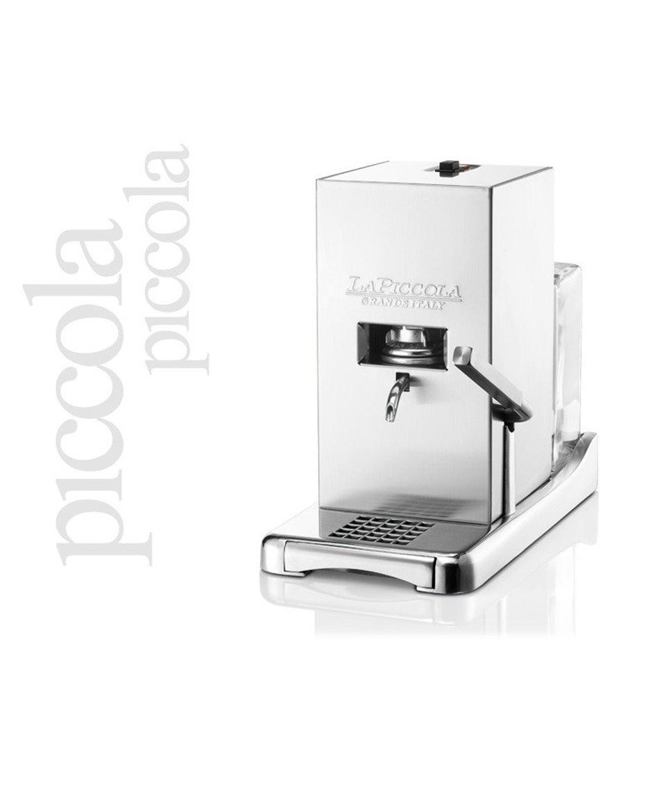 Ekspres do kawy La Piccola Piccola inox mat - system ESE