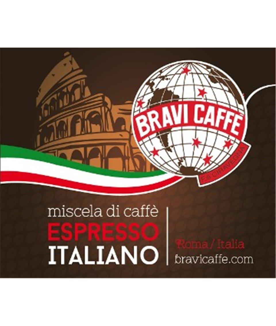 Kawa Bravi Caffè CREMA saszetki pods 44mm ESE cialde - 150 szt.