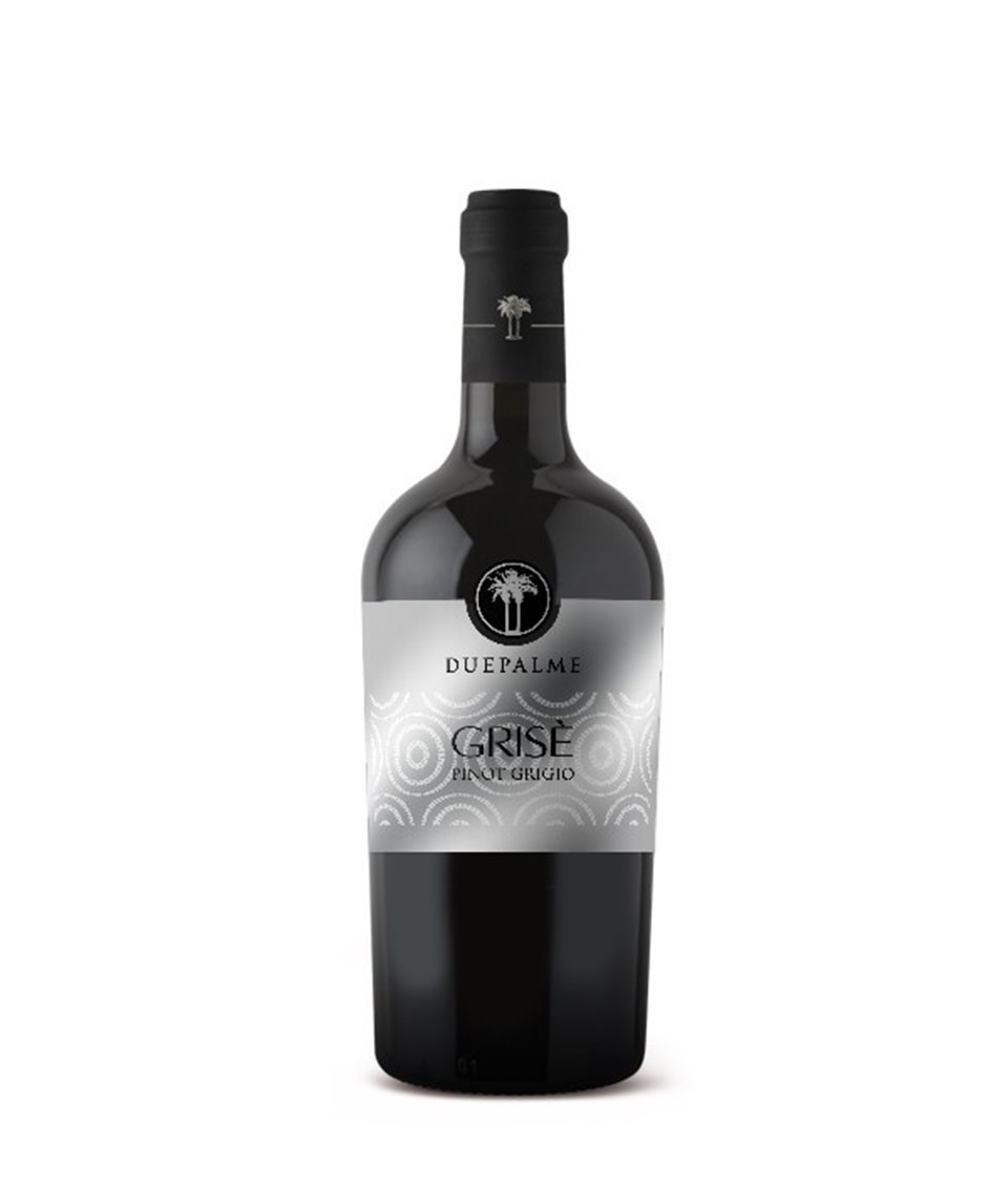 Pinot Grigio IGP Bianco GRISE 2017 Cantine due Palme