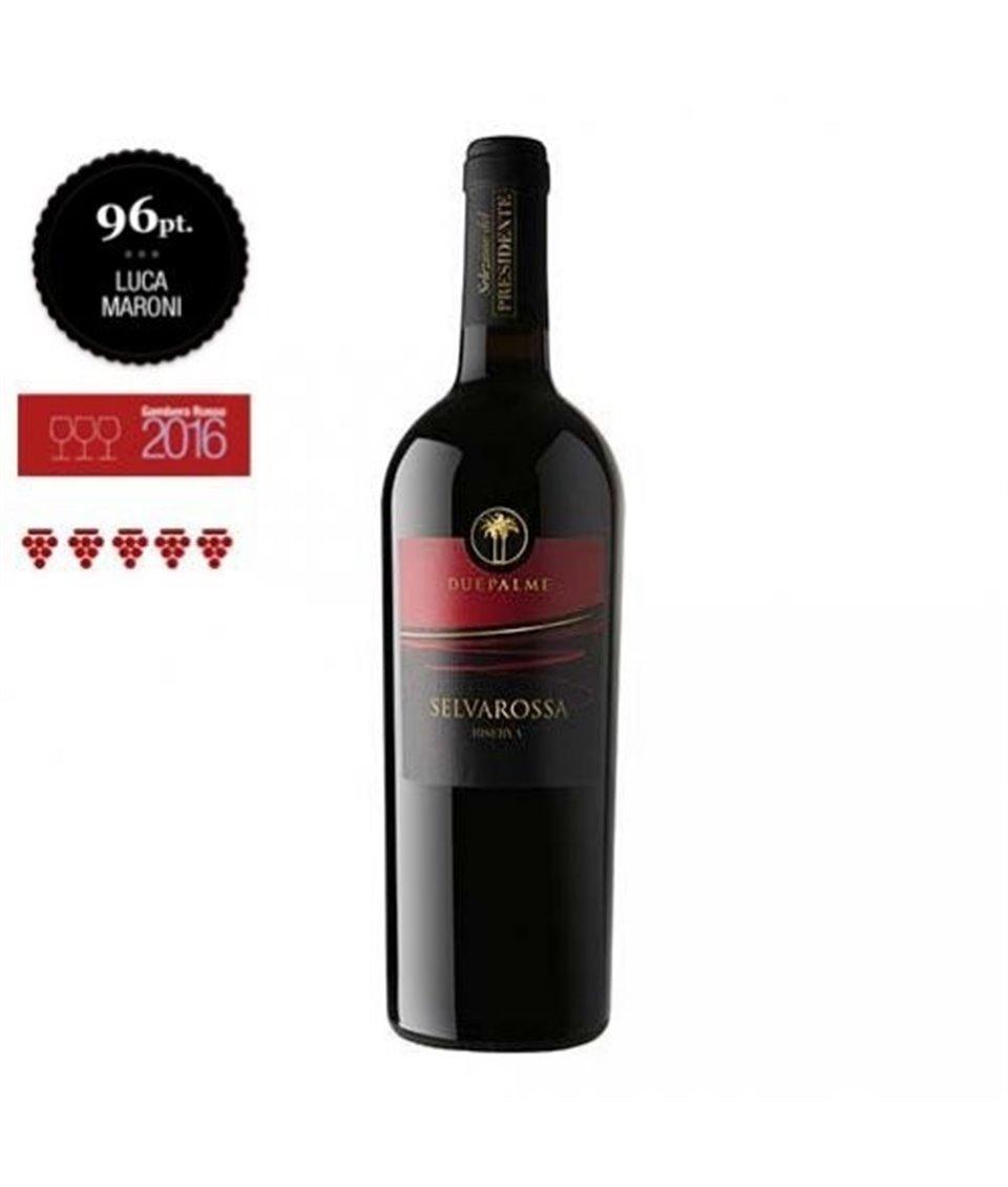 Salice Salentino Rosso Riserva DOC SELVAROSSA 2013 Cantine due Palme