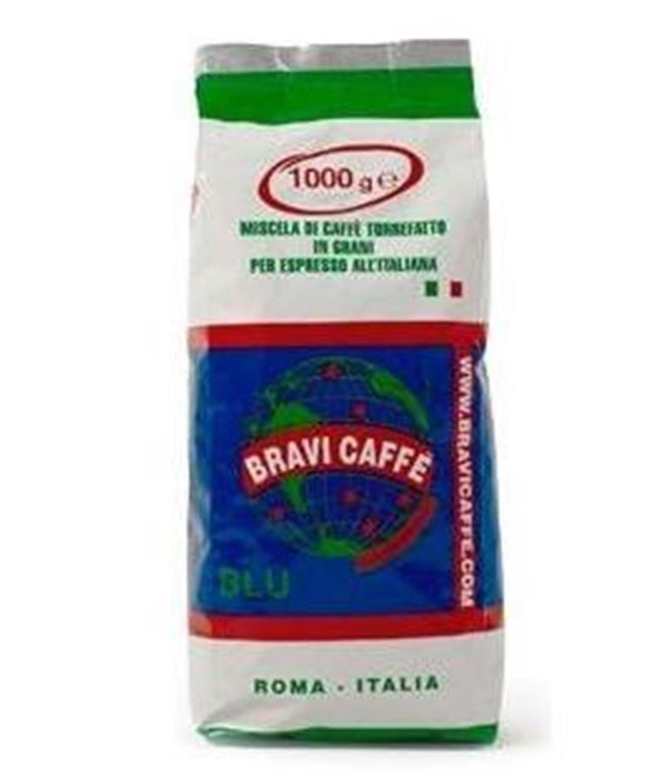 Kawa ziarnista BLU 100% Robusta 500g Bravi Caffe